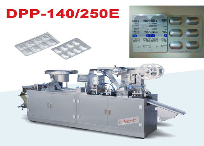 GMP Standard Manual Blister Pack Machines Automatic Flat Type
