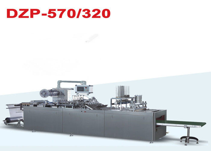 Paper and PVC Tablet Blister Packing Machine / Blister Packaging Equipment
