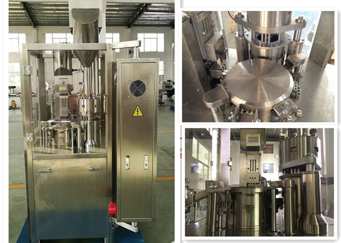 Automatic Capsule Filling Machine With Capacity 24,000 Capsules per hour