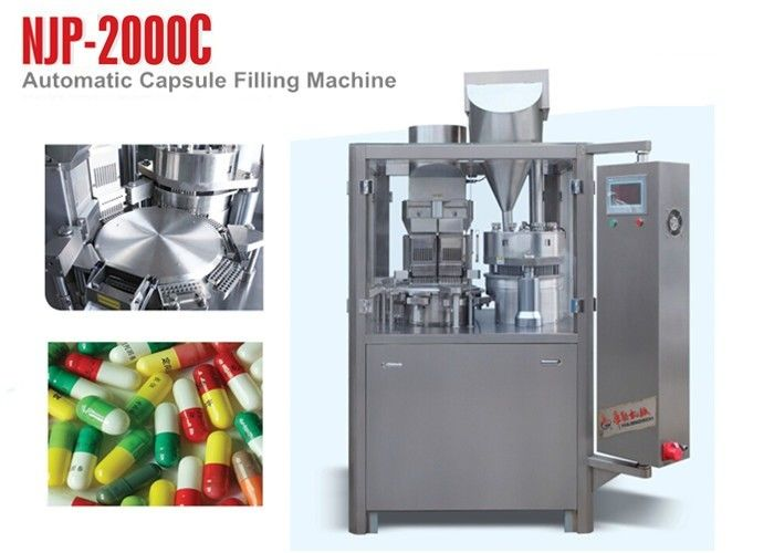 NJP-2000C High Speed Hard Capsule Filling Machine for Powder or Granule Filling