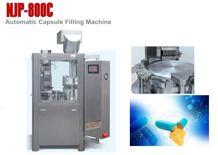 Pharma Powder Automatic Capsule Filling Machine Pharmaceutical Filling Equipment